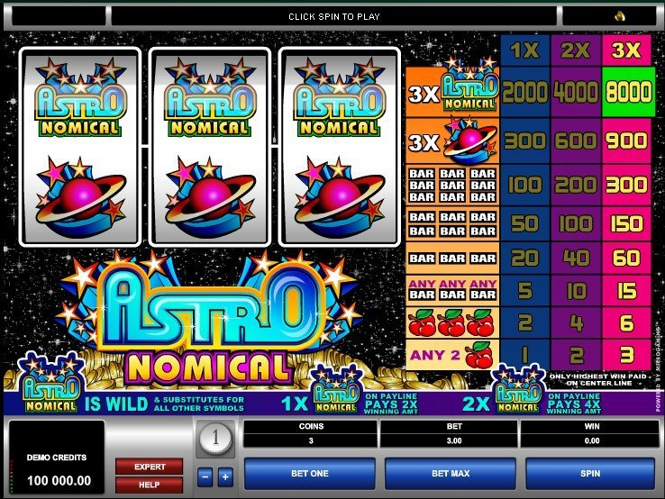 Thrilling World of Astronomical Pokies